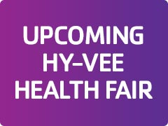 Upcoming Hy-Vee Health Fair